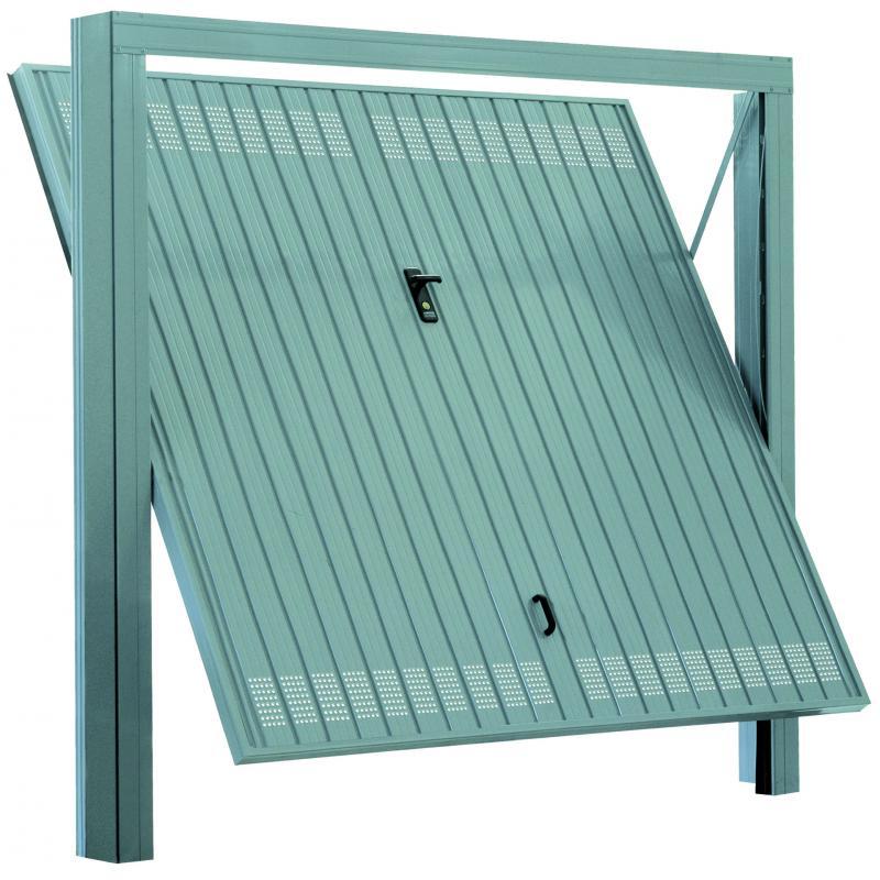 Porte basculanti acciaio for Sandrini serrande